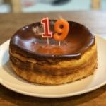 長女ちゃんへ誕生日ケーキ